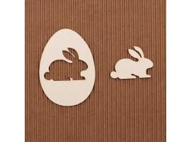 Króliczek Wielkanocny w pisance